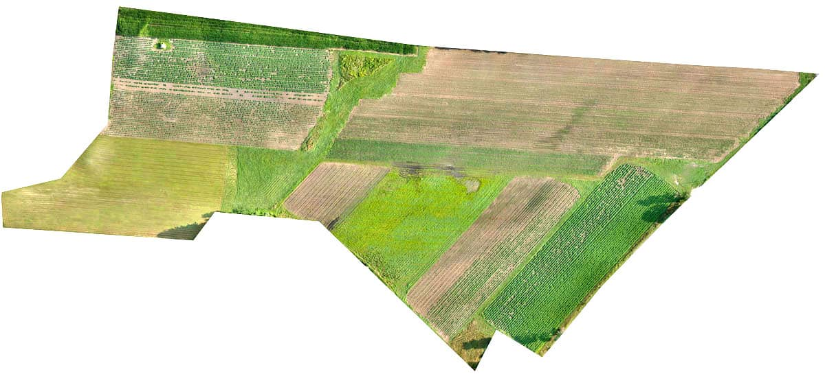 orthomosaic farm aerial map