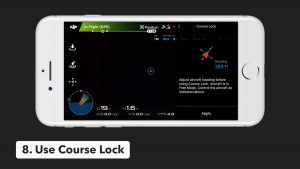 dji go application course lock flight mode