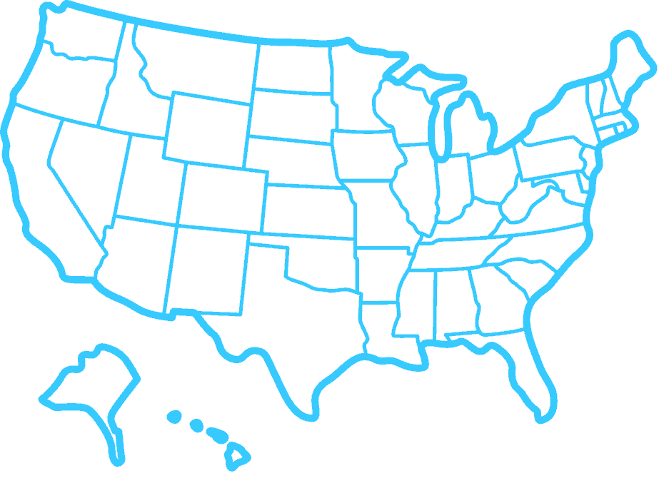 icon of map of United States