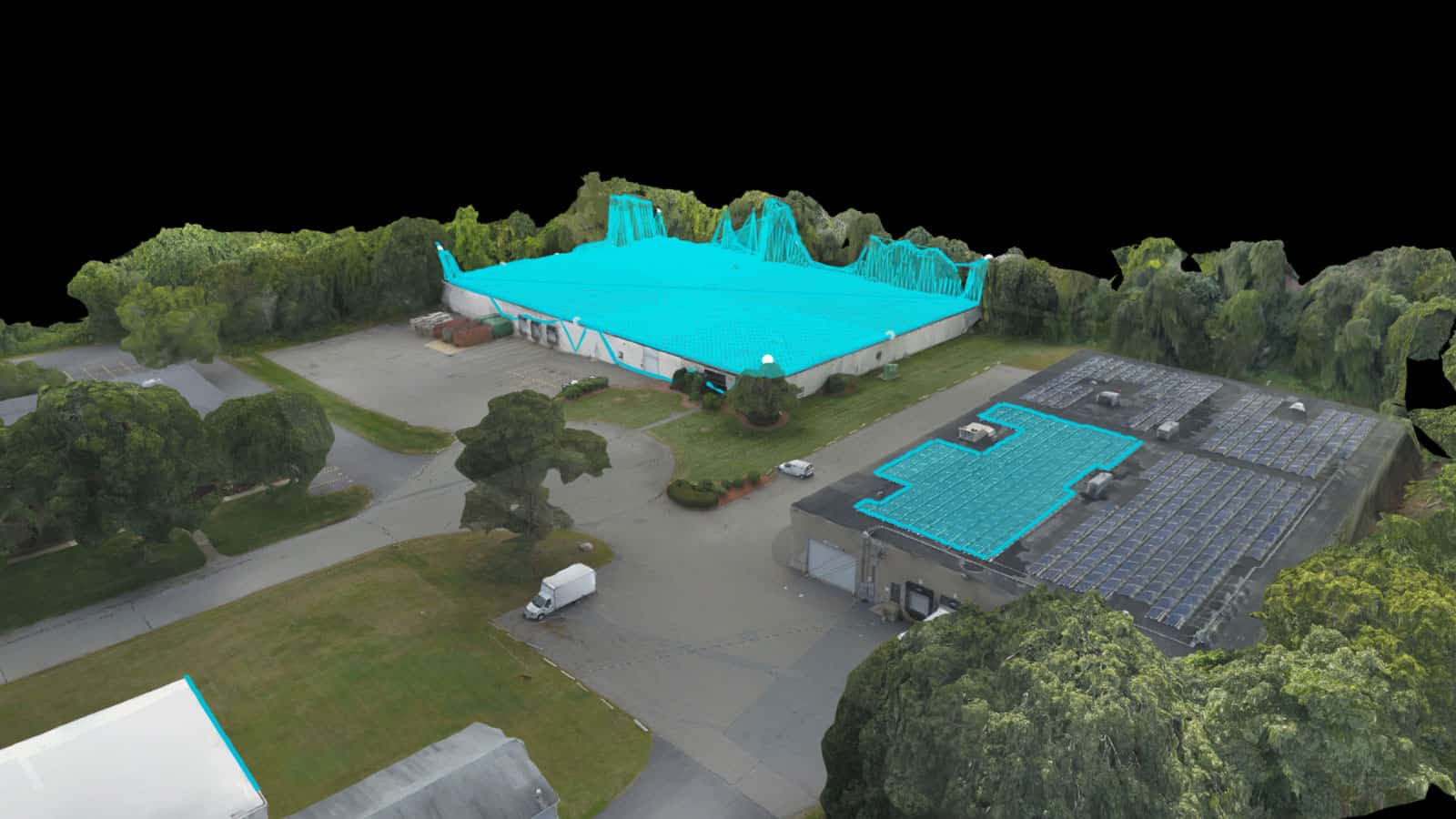 3D model taken by drone of property in Manassas, VA